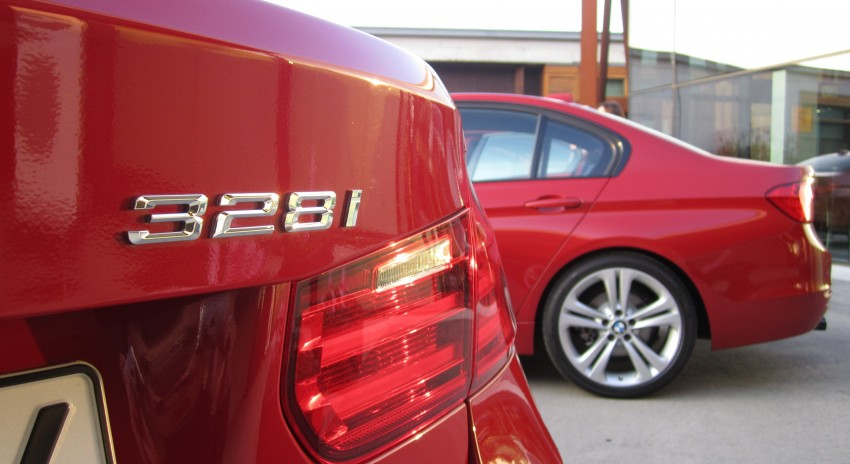 DRIVEN: BMW F30 3 Series – 320d diesel and new four-cylinder turbo 328i sampled in Spain! Image #85275