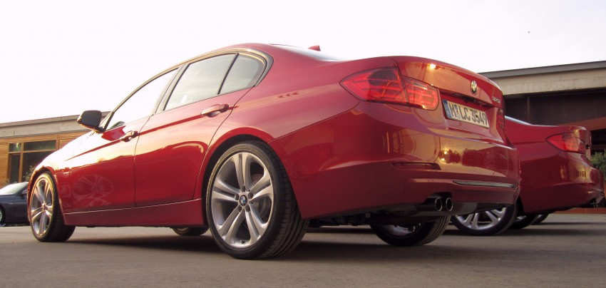 DRIVEN: BMW F30 3 Series – 320d diesel and new four-cylinder turbo 328i sampled in Spain! Image #85183