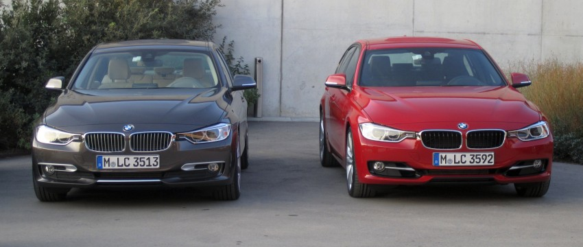 DRIVEN: BMW F30 3 Series – 320d diesel and new four-cylinder turbo 328i sampled in Spain! Image #85200