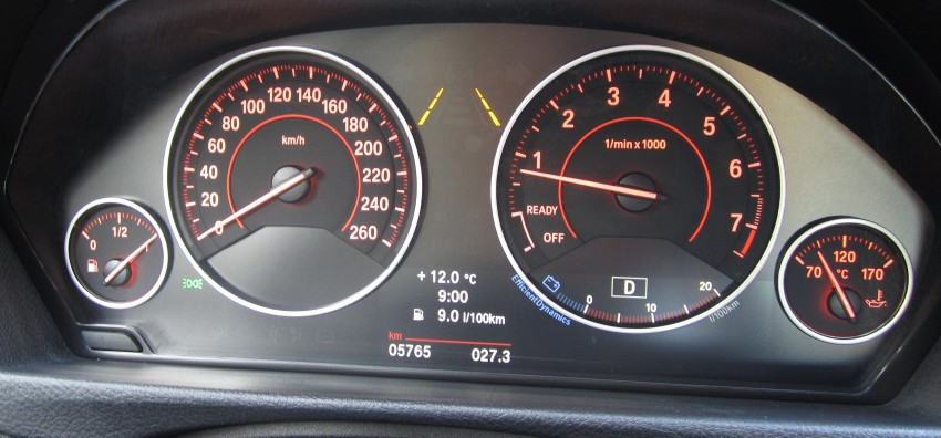 BMW F30 3-Series Test Drive Review – 320d diesel and new four cylinder turbo 328i sampled in Spain! Image #85198