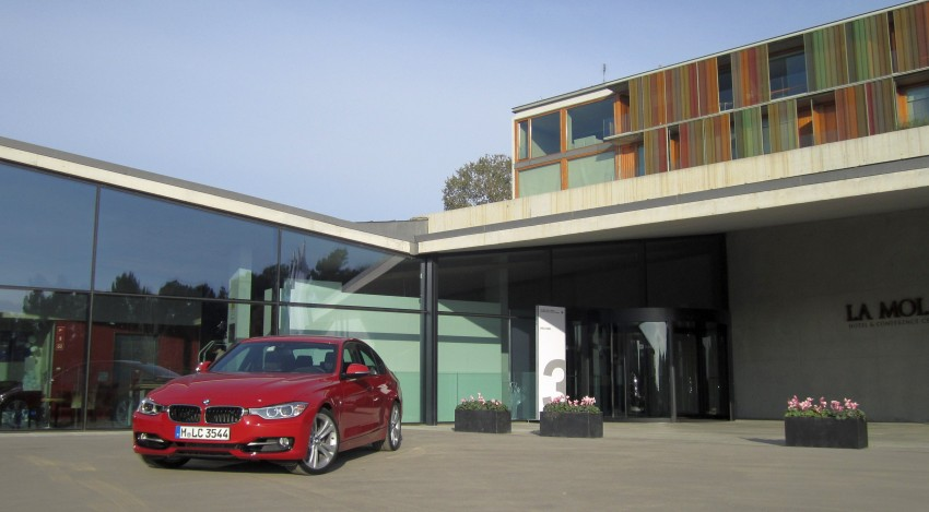 DRIVEN: BMW F30 3 Series – 320d diesel and new four-cylinder turbo 328i sampled in Spain! Image #85197