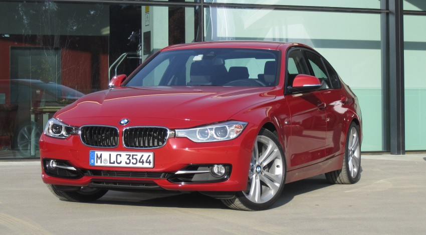 DRIVEN: BMW F30 3 Series – 320d diesel and new four-cylinder turbo 328i sampled in Spain! Image #85196