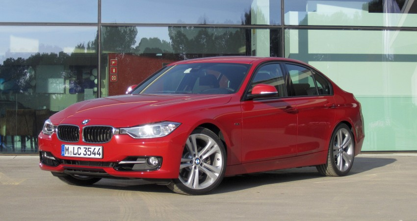 DRIVEN: BMW F30 3 Series – 320d diesel and new four-cylinder turbo 328i sampled in Spain! Image #85195