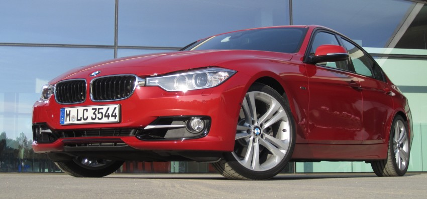 DRIVEN: BMW F30 3 Series – 320d diesel and new four-cylinder turbo 328i sampled in Spain! Image #85194