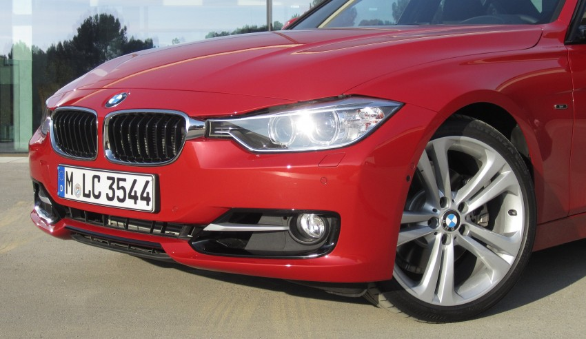 DRIVEN: BMW F30 3 Series – 320d diesel and new four-cylinder turbo 328i sampled in Spain! Image #85203