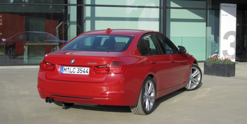 DRIVEN: BMW F30 3 Series – 320d diesel and new four-cylinder turbo 328i sampled in Spain! Image #85207