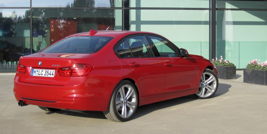 DRIVEN: BMW F30 3 Series – 320d diesel and new four-cylinder turbo 328i sampled in Spain! Image #85192