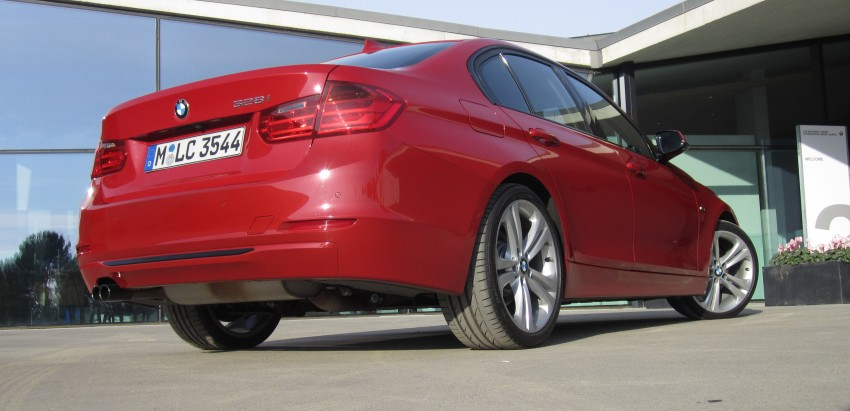DRIVEN: BMW F30 3 Series – 320d diesel and new four-cylinder turbo 328i sampled in Spain! Image #85191