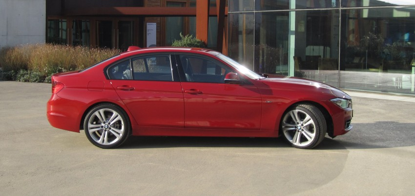 DRIVEN: BMW F30 3 Series – 320d diesel and new four-cylinder turbo 328i sampled in Spain! Image #85205