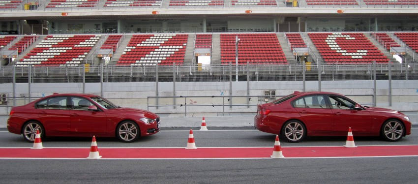 DRIVEN: BMW F30 3 Series – 320d diesel and new four-cylinder turbo 328i sampled in Spain! Image #85238
