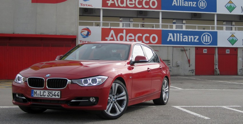 DRIVEN: BMW F30 3 Series – 320d diesel and new four-cylinder turbo 328i sampled in Spain! Image #85234
