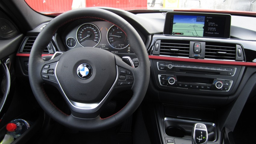 DRIVEN: BMW F30 3 Series – 320d diesel and new four-cylinder turbo 328i sampled in Spain! Image #85228