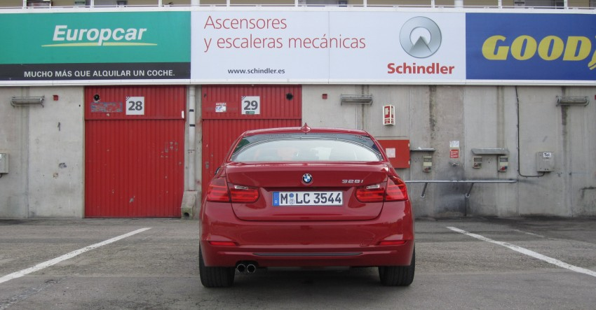 DRIVEN: BMW F30 3 Series – 320d diesel and new four-cylinder turbo 328i sampled in Spain! Image #85231