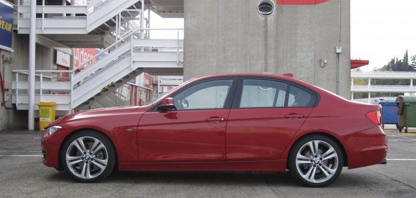 DRIVEN: BMW F30 3 Series – 320d diesel and new four-cylinder turbo 328i sampled in Spain! Image #85221