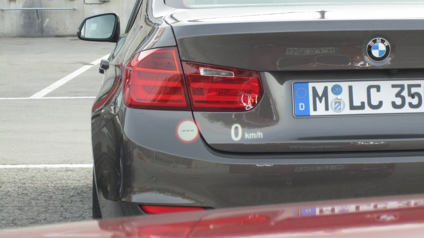 DRIVEN: BMW F30 3 Series – 320d diesel and new four-cylinder turbo 328i sampled in Spain! Image #85223