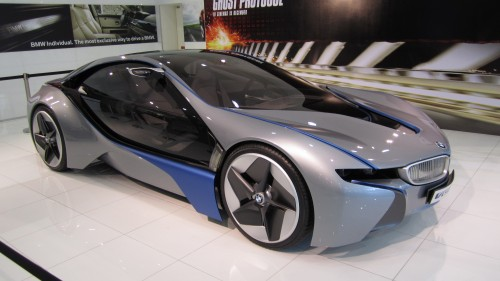 BMW Vision EfficientDynamics Concept on display at Ingress Auto\'s ...