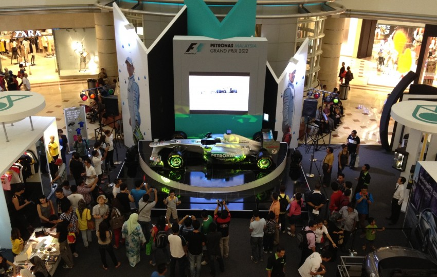 PETRONAS Malaysia Grand Prix Showcase now at KLCC Image #94385