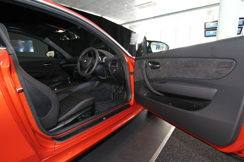 BMW 1 Series M Coupe: only 3 for Malaysia, RM509k Image #113380