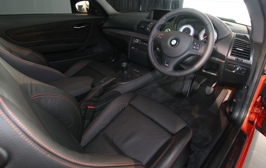 BMW 1 Series M Coupe: only 3 for Malaysia, RM509k Image #113379