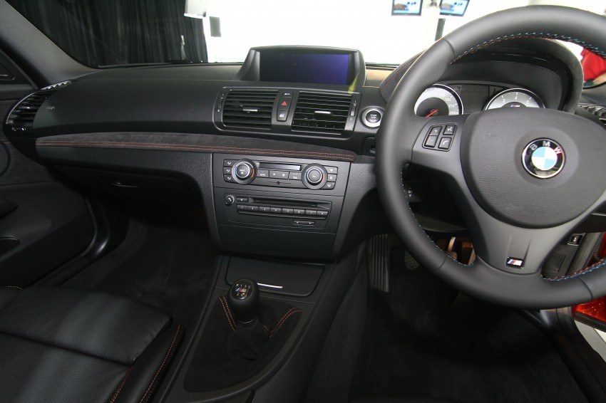 BMW 1 Series M Coupe: only 3 for Malaysia, RM509k Image #113363