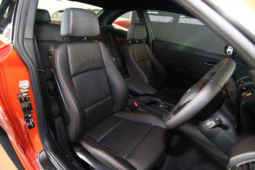 BMW 1 Series M Coupe: only 3 for Malaysia, RM509k Image #113369