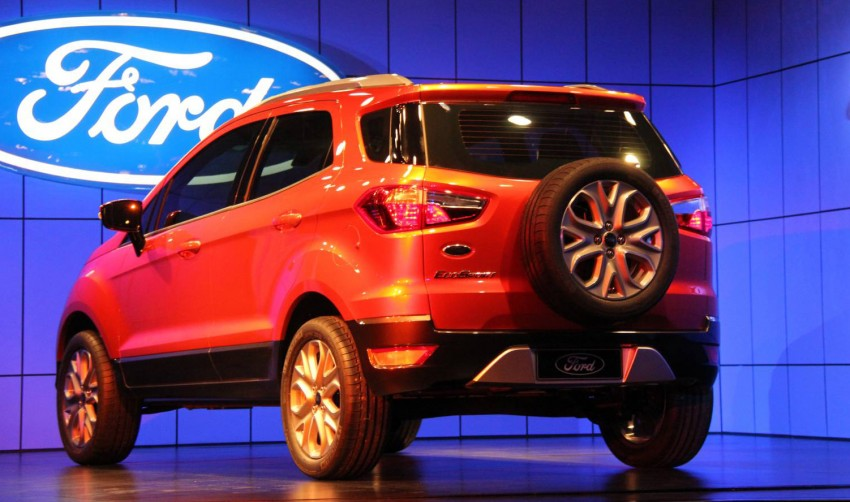 Ford EcoSport SUV debuts in Delhi Auto Expo – global offering to eventually enter around 100 markets Image #82097