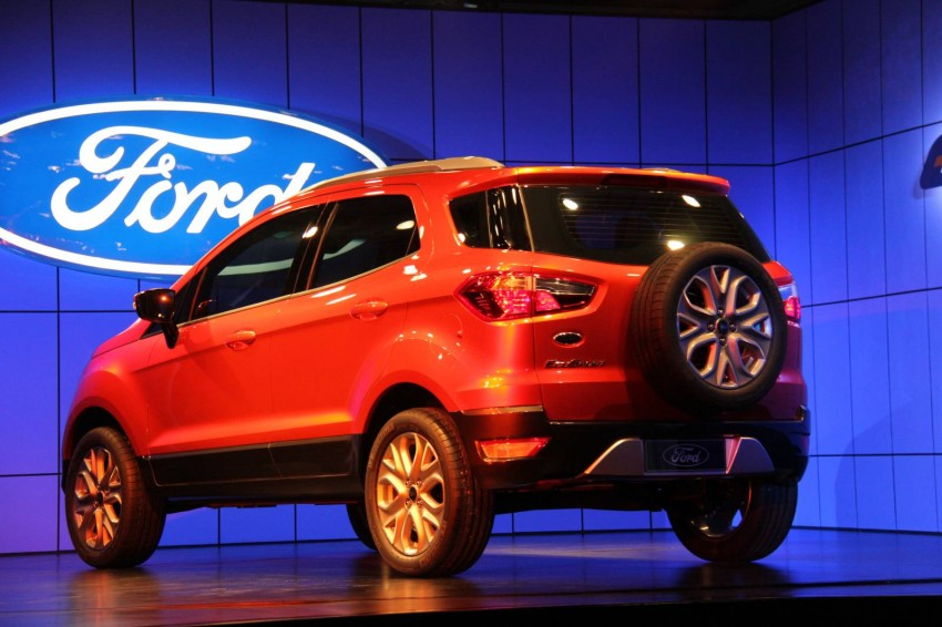 Ford EcoSport SUV debuts in Delhi Auto Expo – global offering to eventually enter around 100 markets Image #82133