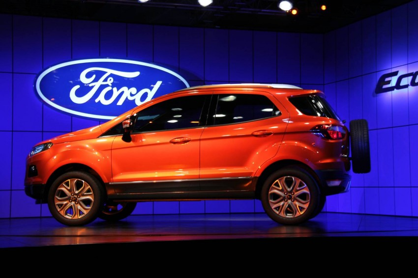 Ford EcoSport SUV debuts in Delhi Auto Expo – global offering to eventually enter around 100 markets Image #82099