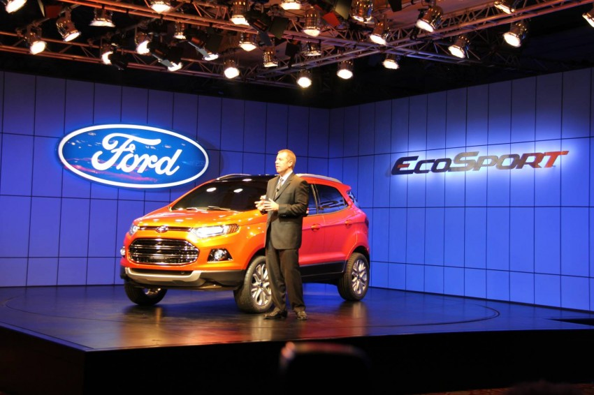 Ford EcoSport SUV debuts in Delhi Auto Expo – global offering to eventually enter around 100 markets Image #82130
