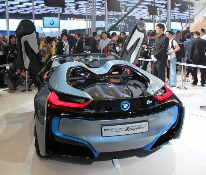 BMW's i8 Concept blows the top off at Auto China 2012 Image #102469