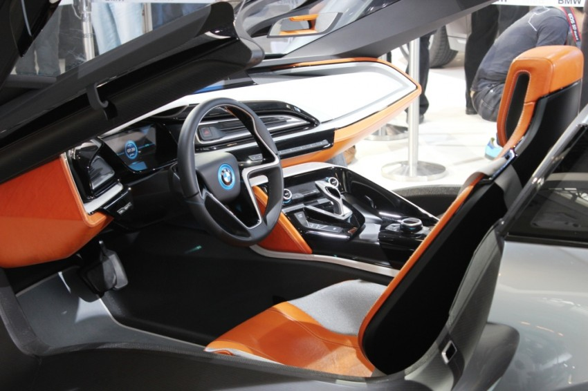 BMW's i8 Concept blows the top off at Auto China 2012 Image #102470