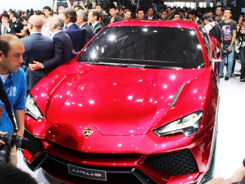 Lambo Urus concept SUV makes world debut in Beijing Image #102449