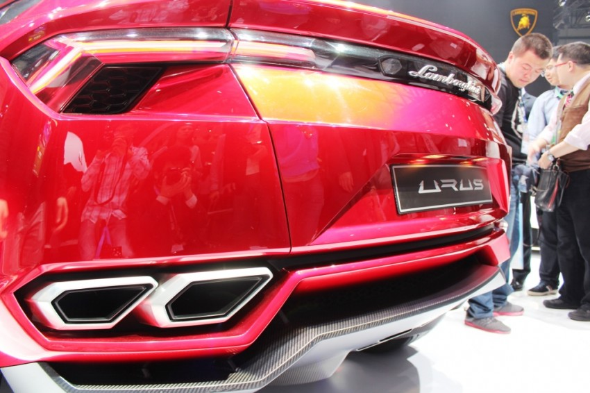 Lambo Urus concept SUV makes world debut in Beijing Image #102451
