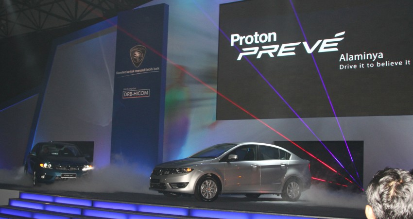 Proton Prevé with 1.6 turbo launched: RM60k – RM73k! Image #101193