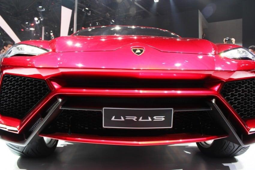 Lambo Urus concept SUV makes world debut in Beijing Image #102455