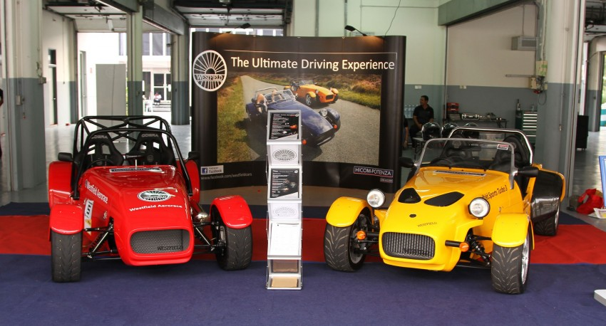 Westfield fields two cars at Sepang: we try them! Image #114725