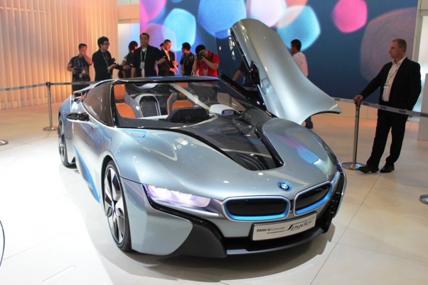 BMW's i8 Concept blows the top off at Auto China 2012 Image #102478