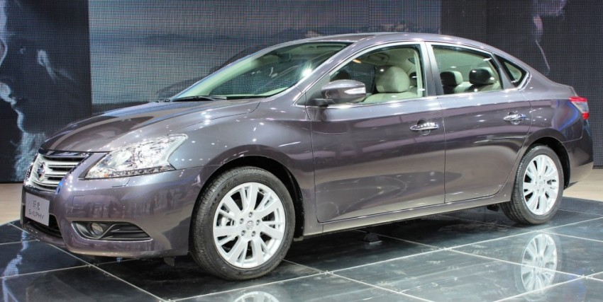 Nissan Sylphy gets new engine and updated CVT Image #102629