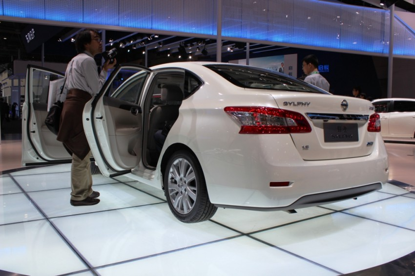 Nissan Sylphy gets new engine and updated CVT Image #102630