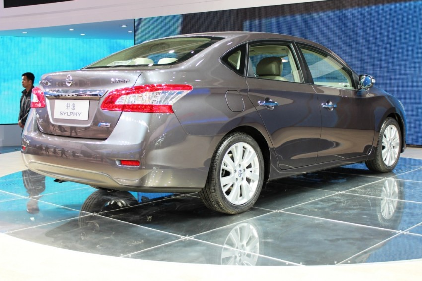 Nissan Sylphy gets new engine and updated CVT Image #102631