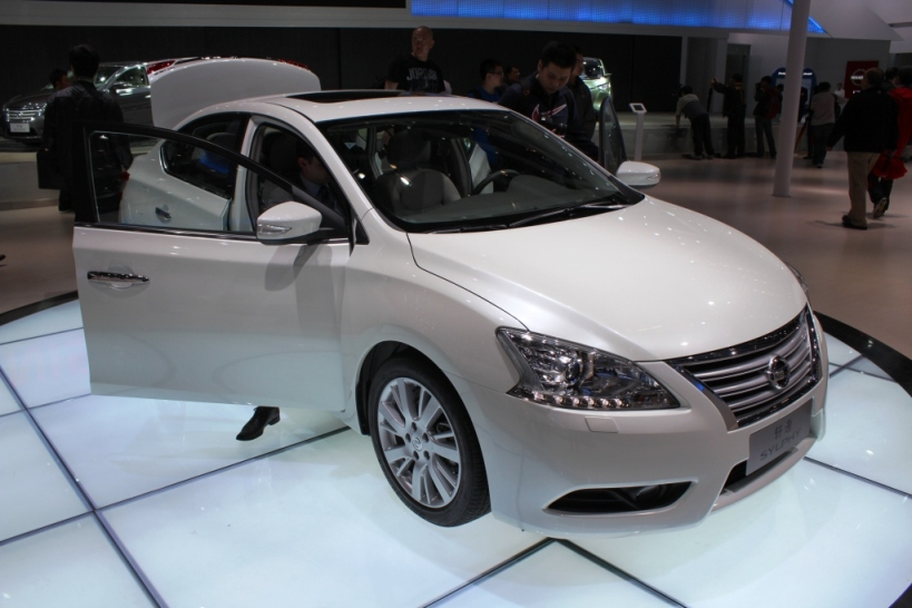 Nissan Sylphy gets new engine and updated CVT Image #102655