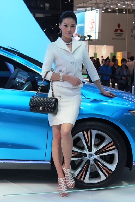 First Denza electric vehicle surfaces at Auto China 2012 Image #102882