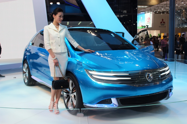 First Denza electric vehicle surfaces at Auto China 2012 Image #102883