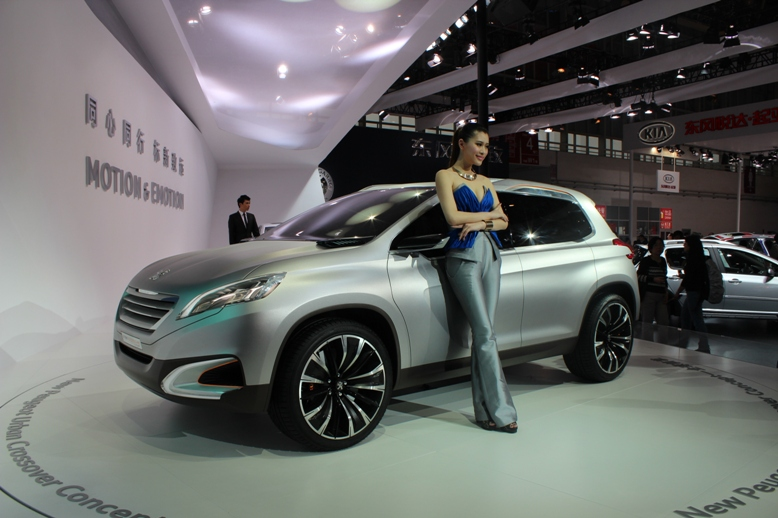 Peugeot Urban Crossover Concept hints at the future Image #102713