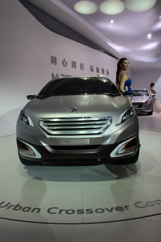 Peugeot Urban Crossover Concept hints at the future Image #102718