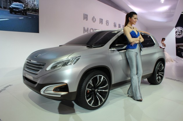 Peugeot 6008 Concept Beijing Bound Based On Citroen Ds