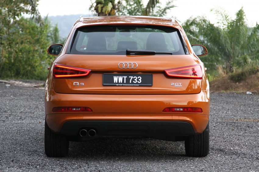 Audi Q3 2.0 TFSI 170hp Test Drive Review Image #115304