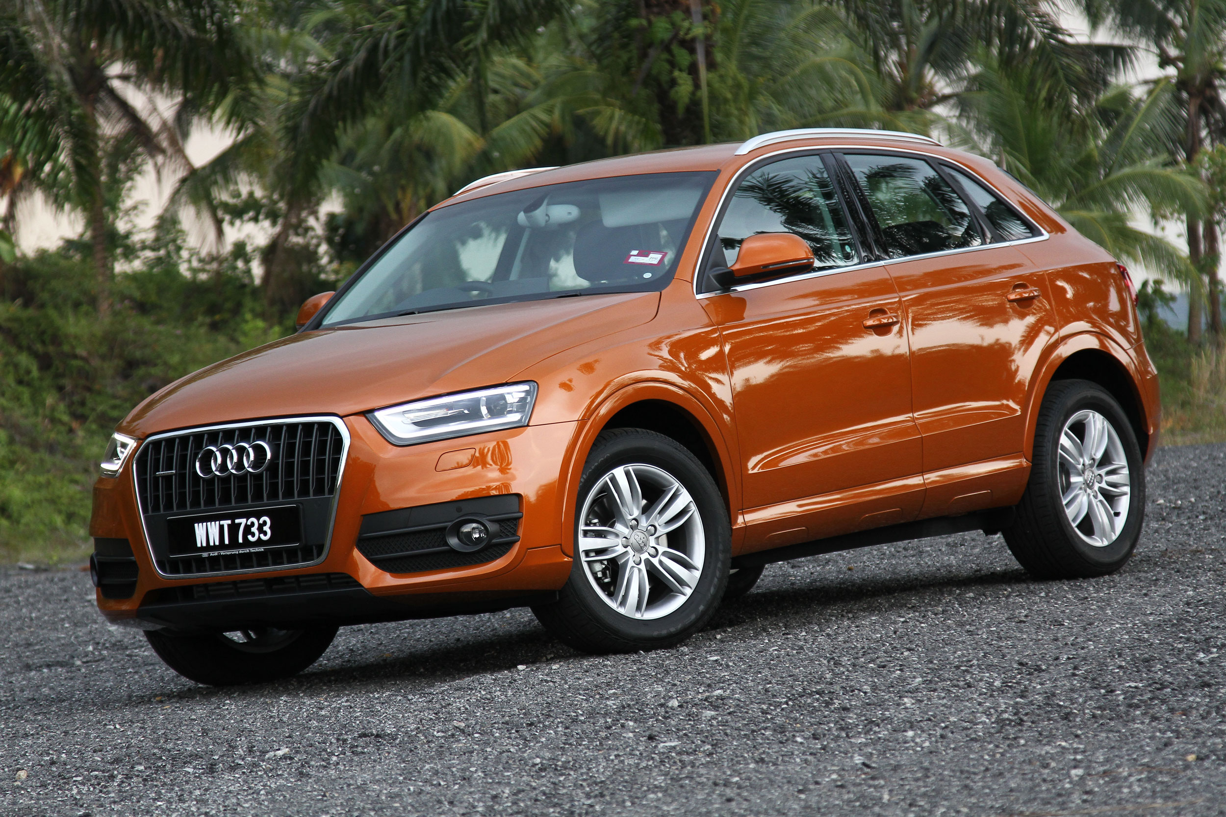 audi q3 2 0 tfsi 170hp test drive review image 115305. Black Bedroom Furniture Sets. Home Design Ideas