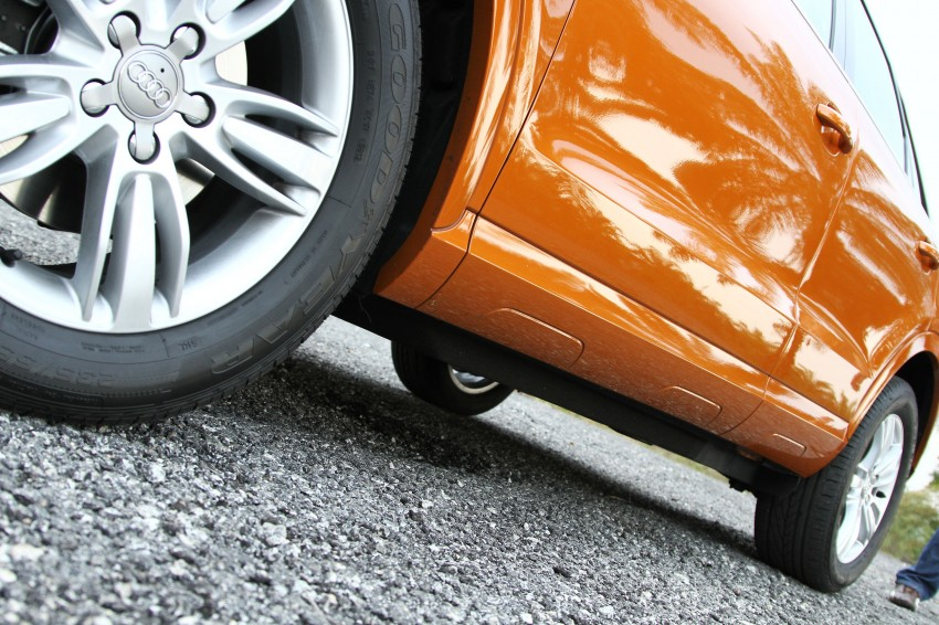 Audi Q3 2.0 TFSI 170hp Test Drive Review Image #115318