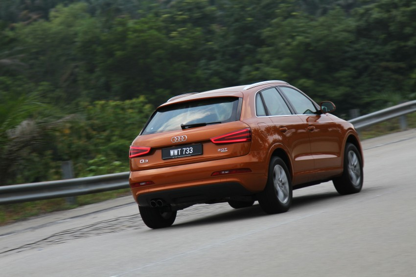 Audi Q3 2.0 TFSI 170hp Test Drive Review Image #115296